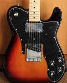 Fender 72 Telecaster Maple Neck 3 Color Sunburst