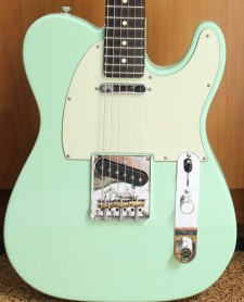 Fender Limited Edition American Professional Telecaster Surf Green Rosewood Neck